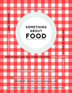 Something About Food Mason & Taylor 12th October